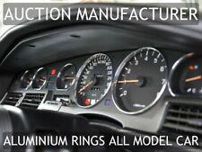 Toyota Supra Mk3 86-93 Chrome Cluster gauge Dashboard rings speedo Trim 6 pcs