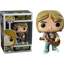 Funko Pop Rocks Series; 67: Kurt Cobain Vinyl Pop Figure