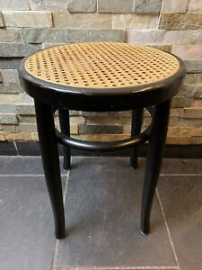 Thonet Stil Bugholz Hocker Top Zustand