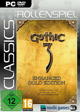 Gothic 3 - Enhanced Gold Edition (PC, 2016, DVD-Box)