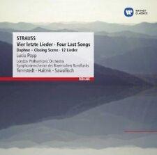 Lucia Popp/Klaus Tennstedt/Wol - Strauss: Vier Letzte Lieder, Four, Fou (NEW CD)
