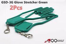 Durable Outdoor Sport Golf Gloves Glove Stretcher Shaper Extend Green Chain 2pcs