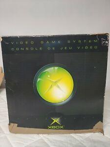 Microsoft Xbox Original Console Box Only - No Console Included