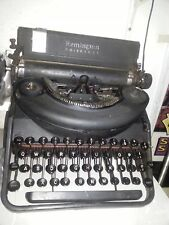 OLD TYPEWRITER MACCHINA DA SCRIVERE REMINGTON NOISELLES PORTABLE