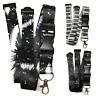 Music Lanyard Neck Strap for ID Badge holder with metal Clip Spirius