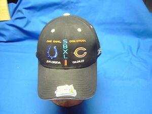 Super Bowl XLI  South Florida Colts vs Cubs 02.04.07 Stadium Collection Cap