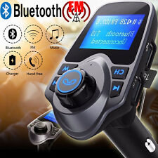Bluetooth Wireless Car Stereo MP3 Player FM Transmitter Radio Adapter Charger US