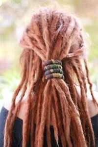 Spiralocks Bendable Hair Tie for dreadlocks Camo Army Hair Tie Dread Accessories