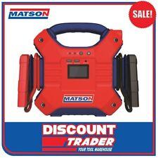 Matson 12V/24V Lithium Jump Starter 3500mA MA35000