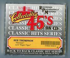 Sue Thompson cd-maxi NORMAN © 1991 - collectables series - CANADA - COL-CD-90-32