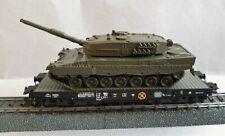 Trix H0 - 24211-01 - Transport de fret - Transporteur lourd avec tank Leopard 2
