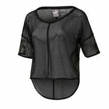Puma Active Explosive Womens Black Mesh DryCell Top T-Shirt 515280 01 UA96