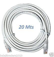 20 Meter RJ45 CAT5E Ethernet LAN Patch Cable Internet Cable
