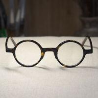 Retro Vintage John Lennon eyeglasses womens tortoise RX optical round glasses