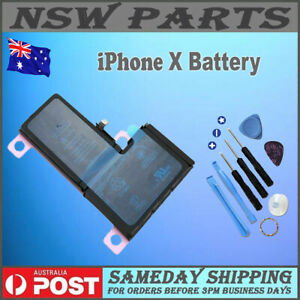 For iPhone X Brand New Internal Battery Replacement 2716mAh High Quality A+++