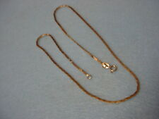 "14K YELLOW GOLD NECKLACE - 16"" - 4.5g"