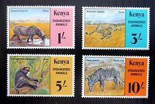 Kenia animales en peligro de extinción 1985 SG365/8 Gato £ 16 U/M Nuevo Precio FP8430