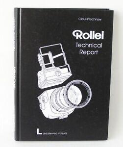 Claus Prochnow Rollei Technical Report - Rolleiflex Rolleicord TLR's SL35 SL26