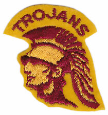 "USC TROJANS NCAA COLLEGE VINTAGE 2"" THROWBACK TEAM PATCH"