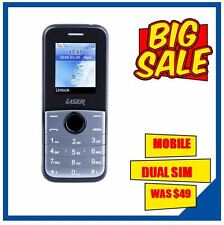 10 x Unlocked Dual Sim Mobile Phone LASER Bluetooth, FM, Built-in Camera 2g only