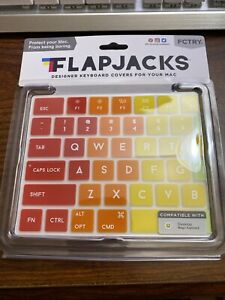 Flapjacks Rainbow Keyboard Cover for Apple MacBook Pro 2015 & Up by FCTRYi