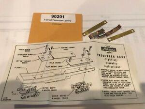Athearn HO Heavyweight Passenger Car Lighting Kit #90201 for 6-Wheel Trucks