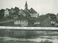 Neustadt an der Waldnaab - Blick auf die Stadt - um 1925               V 5-9