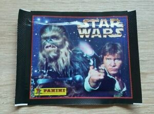 Panini 1 Tüte Star Wars Han Solo Packet Pack Bustina Sobre Pochette Pouch Bag