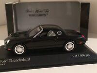 Minichamps 2002 Ford Thunderbird in Schwarz 1/43 OVP
