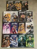 Pittsburgh Penguins 2019-20 Complete Season Icetime Magazine 35 Game Program Set