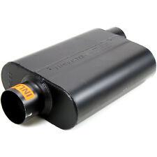 """Flowmaster 943047 Super 44 Steel Muffler 3"""" Center Inlet / Offset Outlet"""