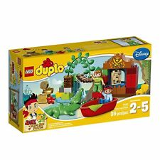 Lego Duplo 10526 PETER PAN'S VISIT Jake Tick Tock Croc Never Land Pirates NEW!