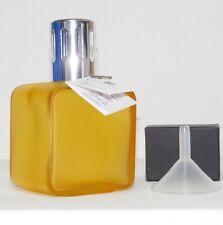 Millefiori Katalysator Duftlampe Lampair gelb honig SQUARE GLASS - nur Gefäß