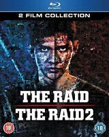 The Raid/The Raid 2 Collection [Blu-ray] [DVD][Region 2]