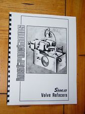 Snap On / KO Lee VR200 & VR300 Valve Grinder Manual
