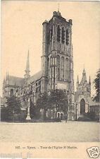 Belgique - YPRES - Tour de l'église Saint Martin   ( i 2733)