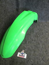Kawasaki KXF250 KXF450 2009-2012 New genuine oem green front fender KX1949