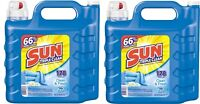 Sun Ultra Concentrated Clean Fresh Liquid Laundry Wash Detergent 250 Oz (2 Jugs)