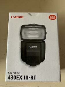 Canon Speedlite 430EX III-RT Flash for Camera