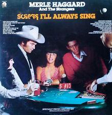 MERLE HAGGARD & THE STRANGERS - SONGS I'LL ALWAYS SING - CAPITOL - 2 LP SET