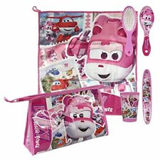 Neceser Niño Disney Super Wings Rosa 4 accesorios