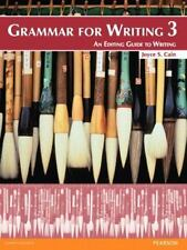 Grammar for Writing No. 3 : An Editing Guide to Writing by Joyce S. Cain...