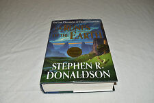 SIGNED Stephen Donaldson RUNES OF THE EARTH 1ST/1ST EDITION 2004 Thomas Covenant