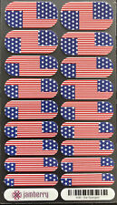 Jamberry Nail Wraps Star-Spangled, Great For 4th Of July, Stars And Stripes Flag