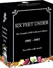 SIX FEET UNDER COMPLETE SERIES DVD COLLECTOR'S EDITION BOXSET R4 NEW & SEALED