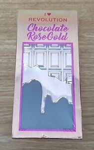 REVOLUTION Make Up Palette I Heart Chocolate Bar Rose Gold Vegan Cruelty Free