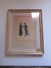 Vintage Dickens Olde Curiosity Shop London Engraving Shadow Print Hamlet Ophelia