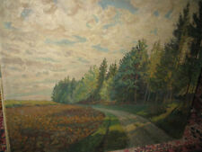 WERNDL-SCHOLLENRIED Ernst, *1893 Ackerfeld vor Waldweg