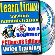 Learn Linux System Administration, 4-Disc Video Training PCLinuxOS Set