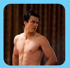 Ian Somerhalder Damon Salvatore The Vampire Diaries coaster design 03